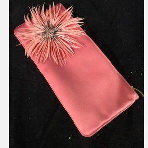Vintage pink Kate spade clutch wallet